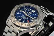 BREITLING SUPEROCEAN STEEL AUTOMATIC MENS WATCH A17360